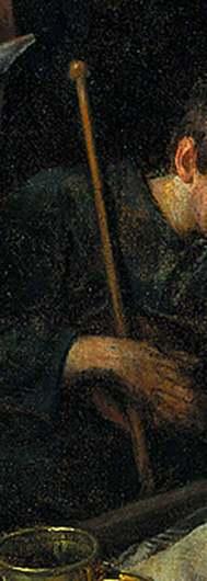 DETAIL Steen Jan havicksz-De aanbidding der herders-1660.1679-Rijksmuseum Amsterdam