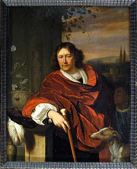 Portrait d'homme à la canne-Louvre
