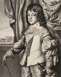 portrait de Ant.van Dyke-Charles II-Mackelvie Trust