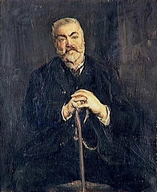 Portrait d'Auguste Gerbois-Henri LEVY-4èquart XIXè-Musée d'Orsay