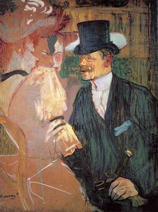L'Anglais au Moulin-Rouge_ 1892_ Carton_ 85.7 x 66 cm