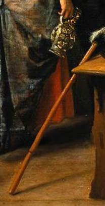 DETAIL Steen Jan havicksz-Prinsjesdag. Het gezelschap viert de geboorte van prins Willem III_ 14 november 1660-1660.1679-Rijksmuseum Amsterdam