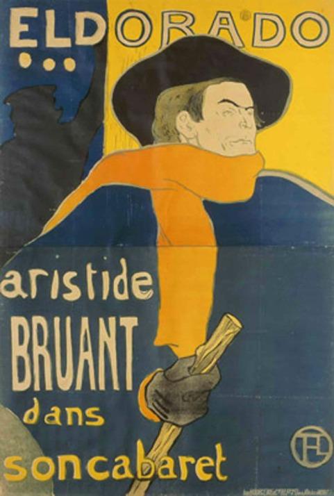 Eldorado-Aristide Bruant-Toulouse Lautrec