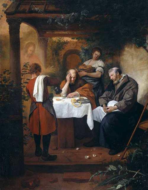 Steen Jan havicksz-De Emmaüsgangers-1665.1668-Rijksmuseum Amsterdam