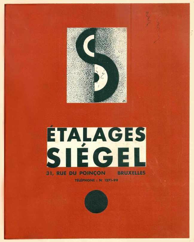 étalages siégel - couverture catalogue