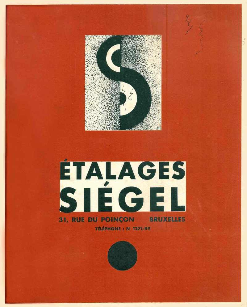 étalages siégel - couverture catalogue