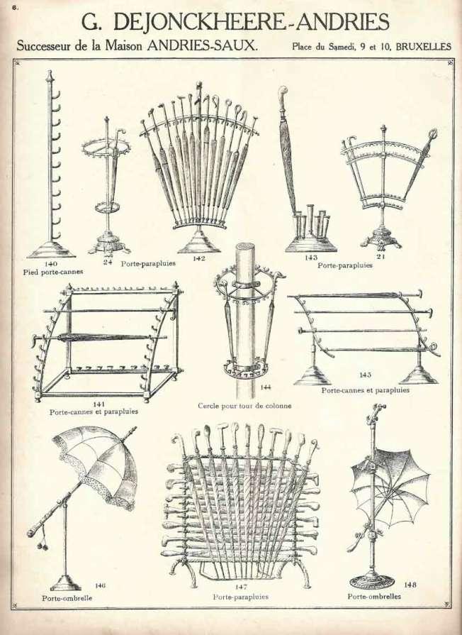 Catalogue Etalages porte cannes 1