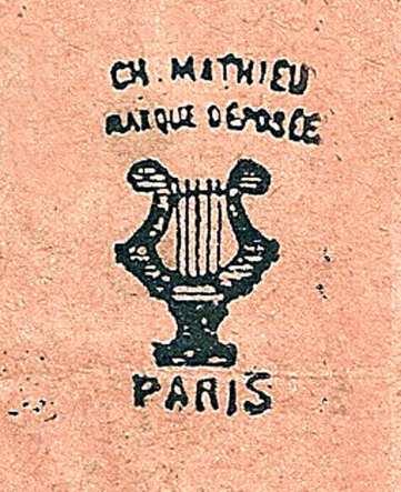 Canne flûte - Ch. Mathieu - Marque déposée