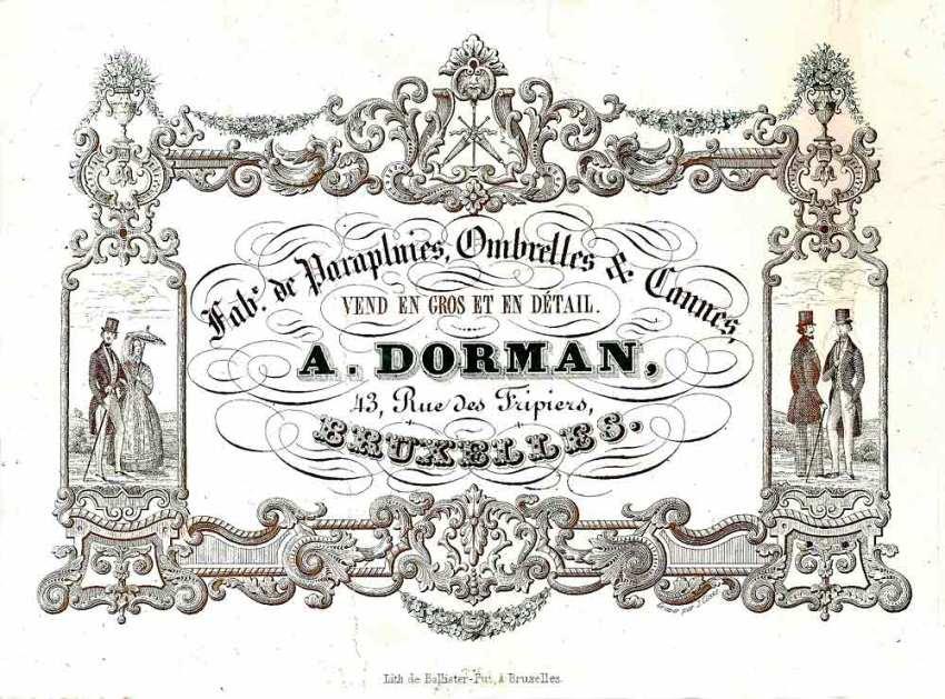 carte porcelaine-fabricant de cannes-A.Dormant-Bruxelles