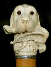 chien & gibier ivoire