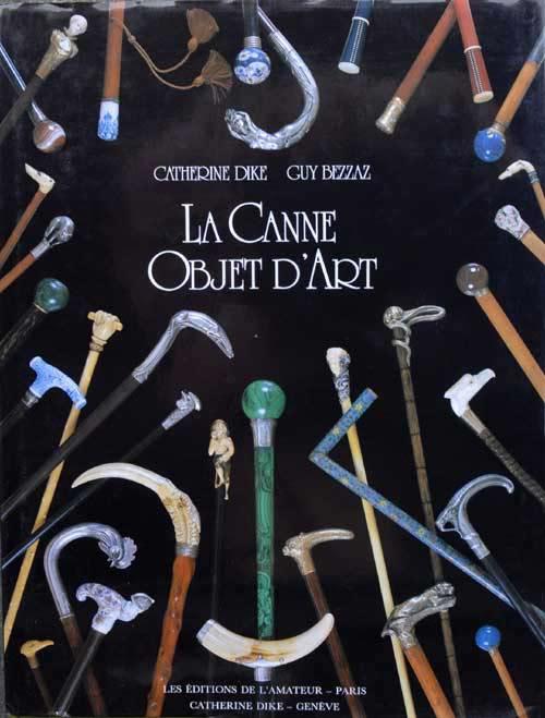 Cannes-la canne objet d'art-C.Dike 1988