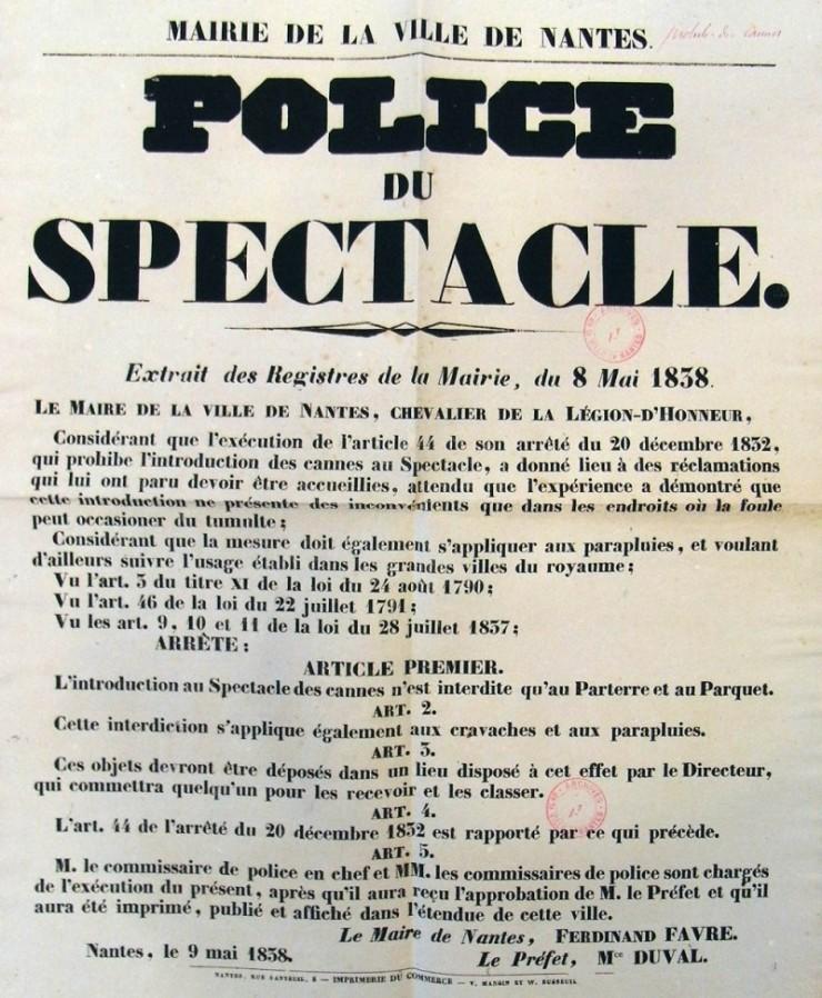 CANNES-Arrêté contre les cannes-1838-archives Nantes.jpg