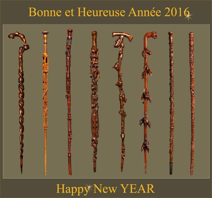 2016,Bonne année, Happy New Year,wandelstock,canne,collection,cane,baton,bruxelles,grand sablon,sablon,curiosite,les cannes,pommeau ivoire,malacca,cannes prestigieuses