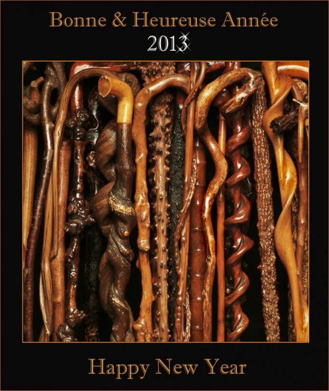 cannes,cannes anciennes,cannes naturelles,art populaire,bois sculpté,grotesque,caricatures,monoxyles,tradition,folklore,symbole,2012,bonne année