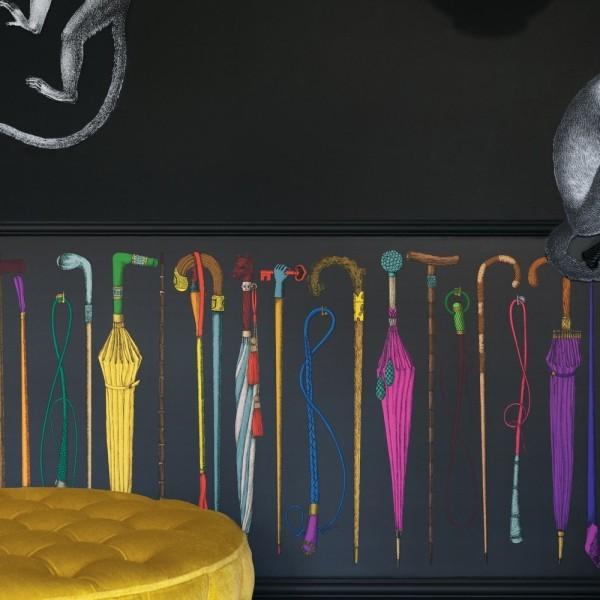 Fornasetti,cannes,cannes décoration,décoration,au fil des couleurs,papier-peint,