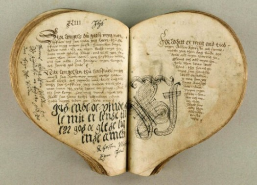 Livre,coeur,St Valentin, Valentin