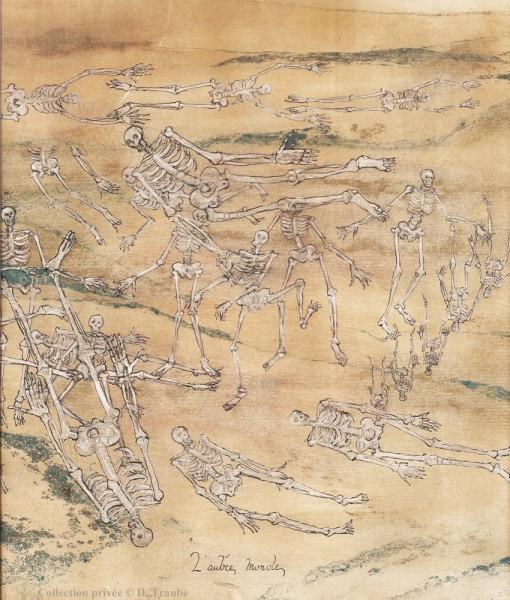 WW1,1WW,guerre,14 18,1914,bâton,canne,tranchée,trench,poilu,art populaire,dessin,papier peint,
