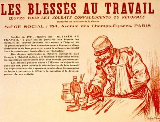 WW1,1WW,guerre,14 18,1914,bâton,canne,tranchée,trench,poilu,art populaire,artisanat des tranchées,artisanat militaire,affiche,