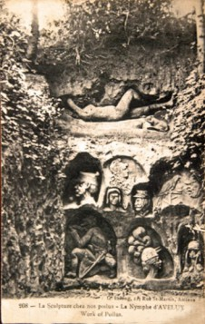 WW1,1WW,guerre,14 18,1914,bâton,canne,tranchée,trench,poilu,art populaire,sculptures,