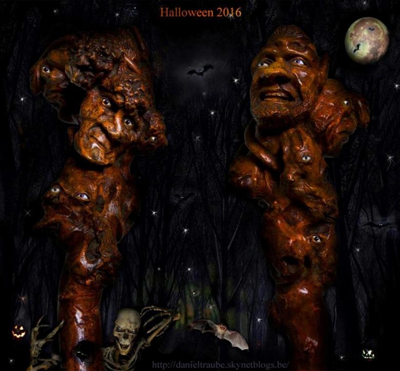 Halloween, canne, cane, walking stick, stick, art populaire, folk art,