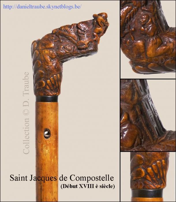 Canne, bâton, Saint, Jacques, Compostelle, pèlerin, pèlerinage,
